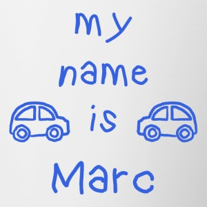 MY NAME IS MARC - Tofarget kopp