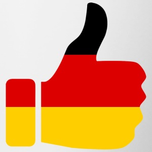 GERMANY / GERMANY - Contrasting Mug