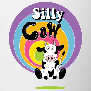 Silly cow - Contrasting Mug
