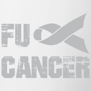 Fanculo Cancer Shirt - Tazze bicolor