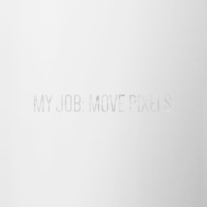 MY JOB: MOVE PIXEL - Kubek dwukolorowy