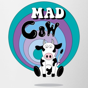 Mad Cow - Tofarvet krus