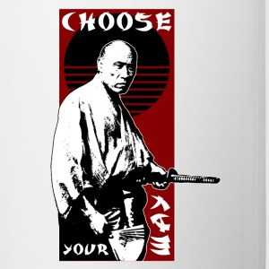 CHOOSE YOUR WAY - SAMURAI - Tasse zweifarbig