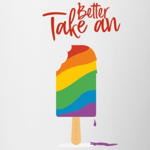 Better Take A Ice Cream - Tasse zweifarbig
