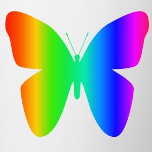 Rainbow Butterfly - Contrasting Mug