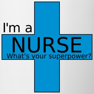 Nurse Superpower - Contrasting Mug