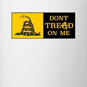DONT TREAD ON ME ANARCHOCAPITALISM - Contrasting Mug