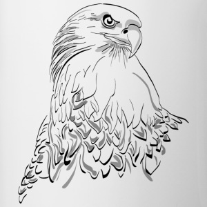 Eagle, bird of prey - Contrasting Mug