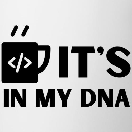 IT's in my DNA - Tvåfärgad mugg