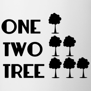 ONE-TWO-TREE-SF - Contrasting Mug