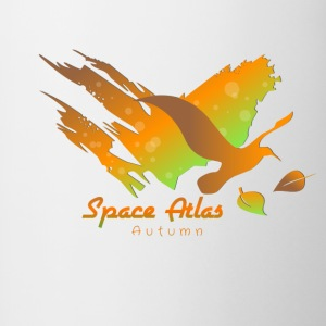 Space Atlas Hoodie Autumn Leaves - Contrasting Mug