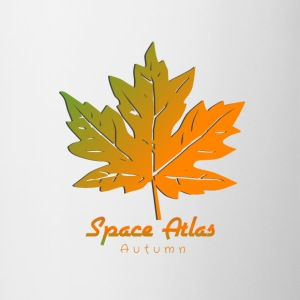 Space Atlas T-shirt Autumn Leaves - Contrasting Mug