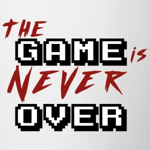 The game is never over_v2 - Contrasting Mug