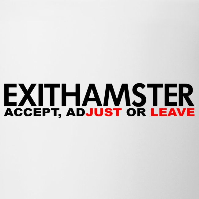 EXITHAMSTER JUST LEAVE png