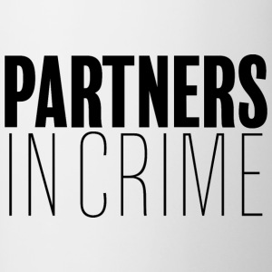 Partners in Crime - Tasse zweifarbig