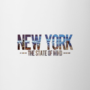 New York - The state of Mind 2 - Tasse zweifarbig