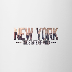 New York - The state of mind - Contrasting Mug