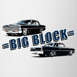 Big block Chevy II nova Super Sport - Tasse bicolore