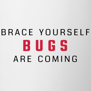 Prepárate - bugs are coming - Taza en dos colores