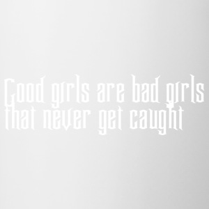 bad_girls - Tasse zweifarbig