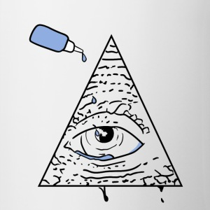 All Seeing Eye - Tasse bicolore