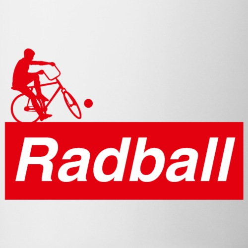 Radball | Red - Tasse zweifarbig