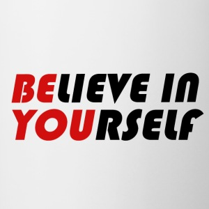 Believe in yourself - Contrasting Mug