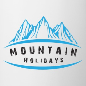Mountain Holidays - Contrasting Mug