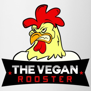 THE VEGAN ROOSTER - Tasse zweifarbig
