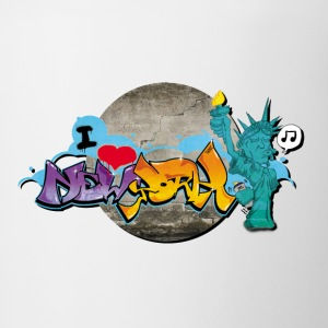 new_york_graffiti_001 - Tazze bicolor