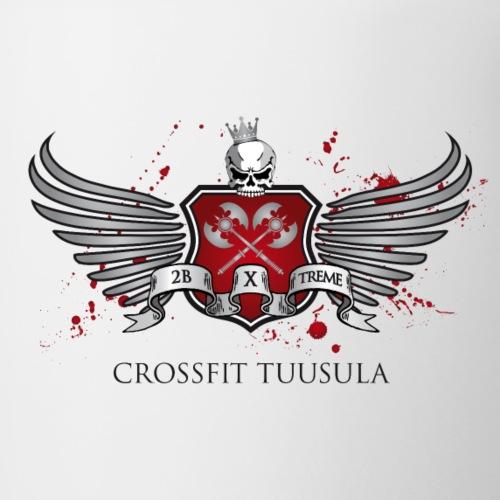 CrossFit Tuusula - Kaksivärinen muki