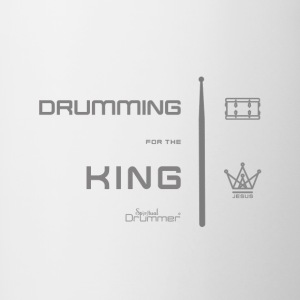 Drummer for the King - Contrasting Mug
