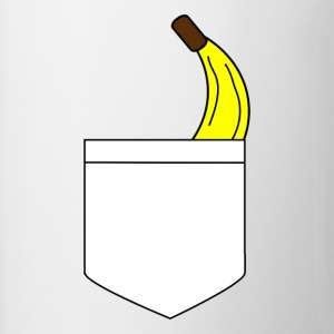 Banana pocket - Contrasting Mug