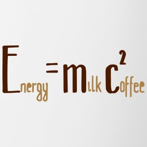 Energy Milk Coffee - Tasse zweifarbig