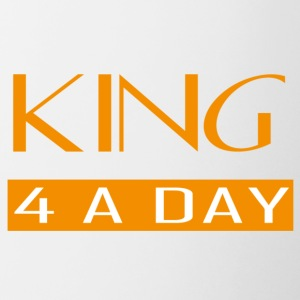 King for a day - Mok tweekleurig