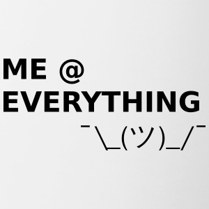ME AT EVERYTHING - Tasse zweifarbig