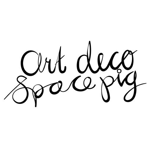 Art Deco Space Pig - The Logo