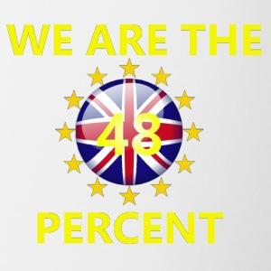 WeAreThe48Percent - Mok tweekleurig