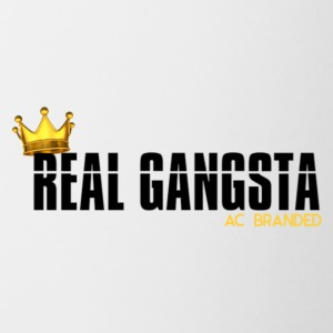 Real Gangsta AC BRANDED - Mok tweekleurig