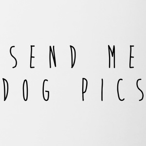 Send me dog pics - Contrasting Mug