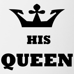 His_Queen King and Queen - Contrasting Mug