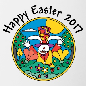 Happy Easter 2017 - Contrasting Mug