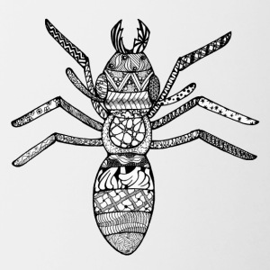 Zentangle-Ant - Tofarget kopp