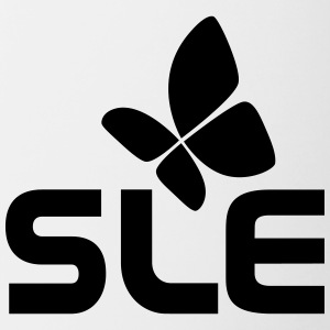 SLE system diseases, with the butterfly - Contrasting Mug