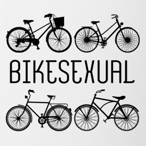 Bicycle: Bikesexual - Contrasting Mug