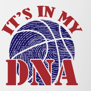 Basketball-DNA - Tofarvet krus