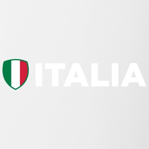 National Flag Of Italy - Tvåfärgad mugg