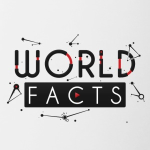 WorldFacts fabriek - Mok tweekleurig