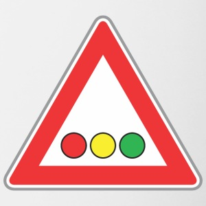 luci Road Sign - Tazze bicolor