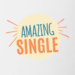 Single: Amazing Single - Tasse zweifarbig
